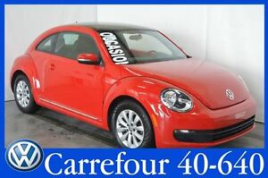 2013 Volkswagen Beetle 2.5L Comfortline Toit Pano+Mags+Sieges Ch