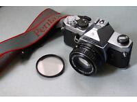 pentax mx 35mm manual analog film camera lomo lomography fast 50mm f1,7 lens