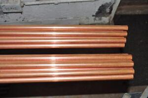 "Copper Pipe Full Length 1/2"" x 12ft"