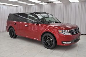 2016 Ford Flex SEL AWD 7PASS SUV w/ BLUETOOTH, NAV, HTD LEATHER,