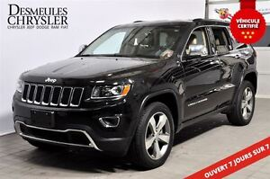2016 Jeep Grand Cherokee LIMITED**CUIR**NAVIGATION