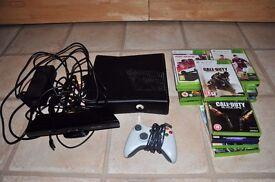 Xbox 360 Slim (320GB) + 16 Games
