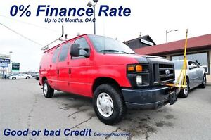 2008 Ford E-250 1.99% finance up to 48 months