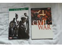 Marvel Graphic Novels (Civil War, Ultimate X-Men) (Priced individually)
