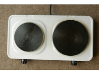 2 Ring Hotplate Hob 240 volt Camping or home