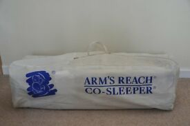 Arm's Reach co-sleeping cot (Mini).