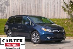 2014 Honda Odyssey Touring + NAVI + DVD + LEATHER + CERTIFIED!