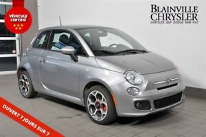 2016 Fiat 500 SPORT - TOIT PANORAMIQUE - AUTOMATIQUE - BLUETOOTH