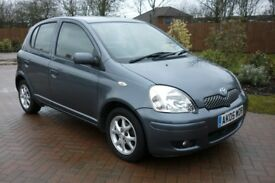 Yaris / One owner from New / 64k miles only-Low Mileage / 12 Months MOT / Reliable / Any trial