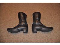 Leather Motorbike Boots (Ladies)