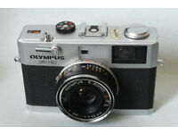 olympus 35 rc 35mm rangefinder analog film camera manual/automatic