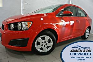 2015 Chevrolet Sonic AUTO*AIR*BLUETOOTH*
