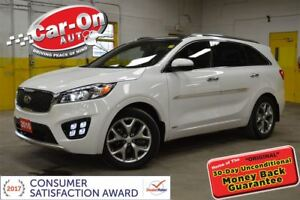 2016 Kia Sorento 2.0L SX TURBO AWD LEATHER NAVI