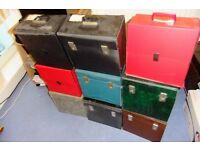 x9 Vintage vinyl storage cases to hold 40-50 records