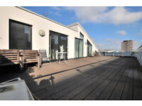 Large 2 bed, 2 bath penthouse by Old Street