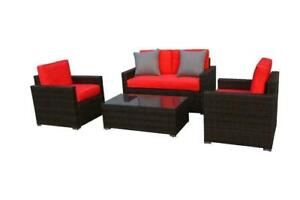 4 Piece Patio Furniture Outdoor Conversation Set - Shipping Available 647.699.8240 Ontario Preview