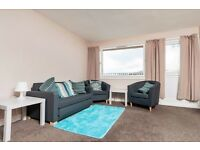 Well-presented 2 bedroom flat with private balcony and shared garden available October – NO FEES!