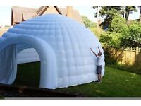 Inflatable Igloo Marquee Hire