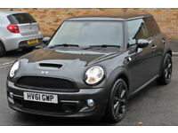 LOW MILEAGE 2011 MINI HATCH 1.6 COOPER S 3DR HATCHBACK