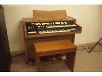 Hammond T102/1 model organ with stool
