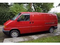 vw t4 ,y reg , 2.5 lpg/petrol , beautiful condition , fitted out in rear for a large single , £4250.