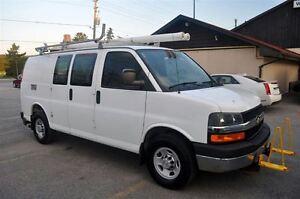 2009 Chevrolet Express 3500 1 Ton Van 98,000 Kms