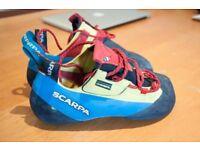 Scarpa Chimera climbing shoes size 43.5