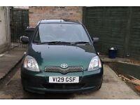 1999 Toyota Yaris 1000cc 5 door *Spares or Repairs*