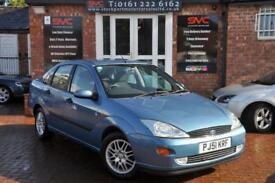FORD FOCUS 1.8 GHIA 4d 113 BHP MOTD TILL 18.02.2108 (blue) 2001