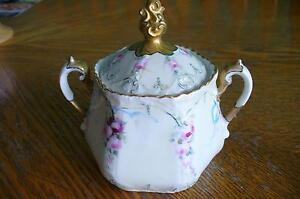 Z.S. & Co Bavaria antique sugar bowl