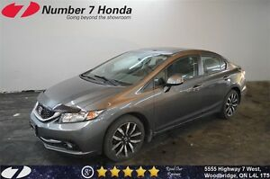 2015 Honda Civic Touring| Leather, Backup Cam, Navi, Loaded!