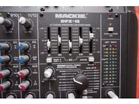 Mackie DFX12 - 12 Channels mixing console with integrated digital Effect