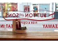 EXPERIENCED WAITRESS/WAITER REQUIRED STOKE NEWINGTON