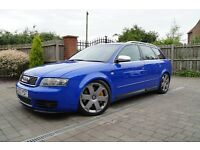 2003 03 Audi S4 4.2 V8 Quattro Avant, 12 mths mot, Hpi clear, Part ex welcome,