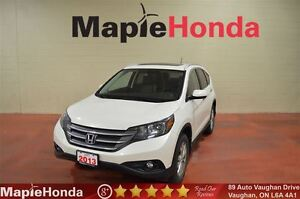2013 Honda CR-V Touring| Loaded, Leather, Navi, All-Wheel Drive!