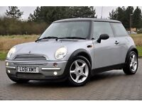 2001 MINI Hatch 1.6 Cooper 3dr+FREE WARRANTY+HALF LEATHER+LOW MILEAGE+12 MOTNHS MOT+JUST SERVICED