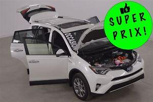 2016 Toyota RAV4 Limited 4WDi GPS+Cuir+Toit+Camera de Recul