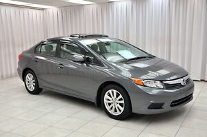 "2012 Honda Civic LX SEDAN w/ BLUETOOTH, SUNROOF & 16"""" ALLOYS"