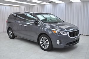 2016 Kia Sedona SX ECO 7PASS MINIVAN w/ HTD LEATHER, 3-ZONE CLIM