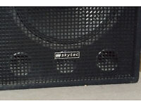 Skytec speakers & Dare amp