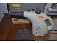 Steam cleaner VAX for kitchen, bathroom or upholstery + all attachments in original box.