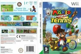 Nintendo Wii Mario Power Tennis Boxed Complete