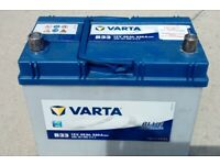 As new, 4 months old Varta 12v 45ah blue dynamic car battery