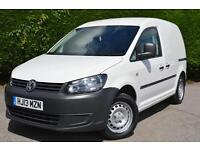 VOLKSWAGEN CADDY C20 TDI VAN (white) 2013