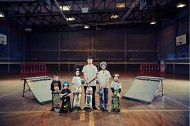 Skateboard Lessons & Mobile Skatepark Hire