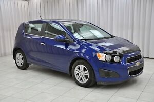 2012 Chevrolet Sonic LT TURBO 5DR HATCH w/ BLUETOOTH, HTD SEATS,