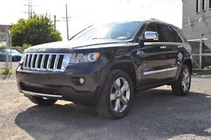 2012 Jeep Grand Cherokee Overland, Loaded, All Credit Approved