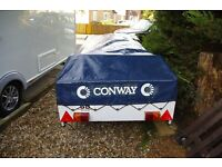 Conway Camargue trailer tent Excellent condition
