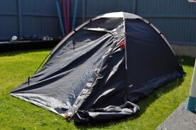 2 person tent with adouble sleeping bag included