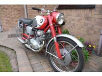 Classic HONDA CB77 Motorcycle 1964